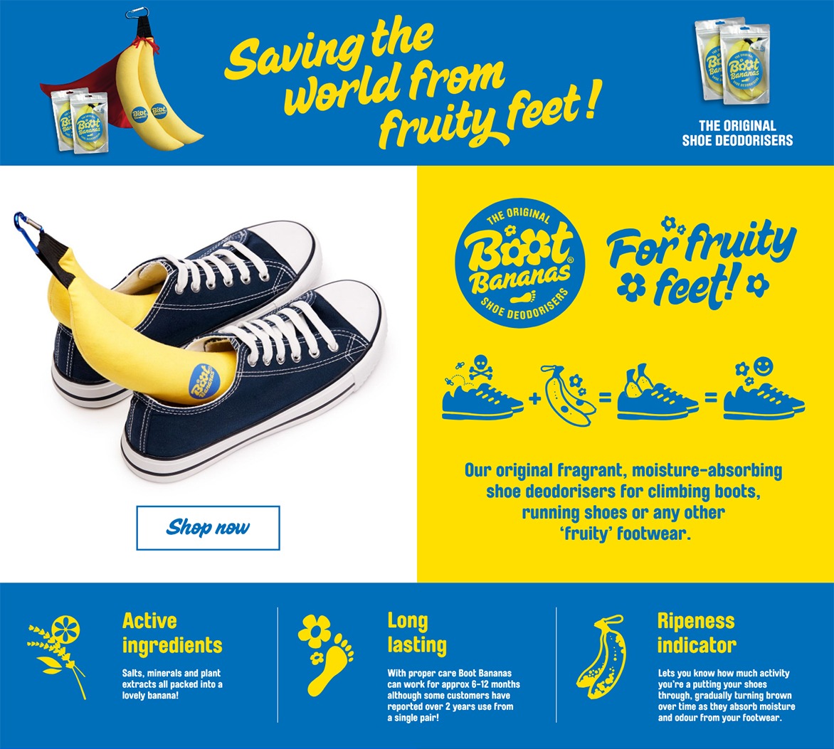 Boot Bananas Amazon Store Front