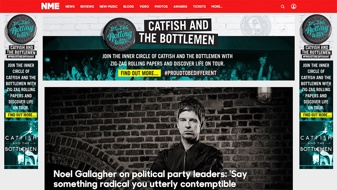 NME Banner Ads
