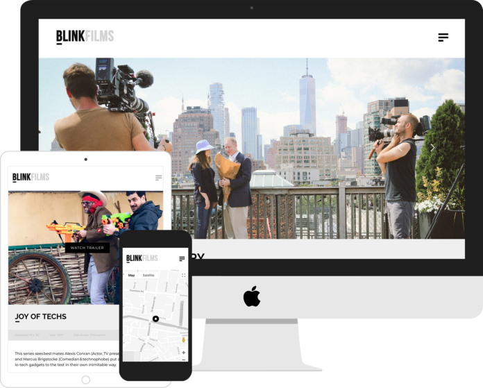 Blink Films WordPress Development