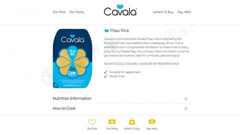 Cavala Pilau Rice