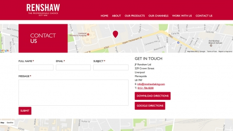 Renshaw Contact Us